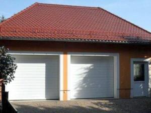 Neubau einer Doppelgarage