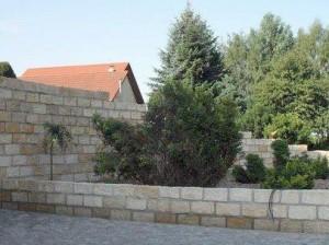 Freiflächengestaltung mit Sandstein